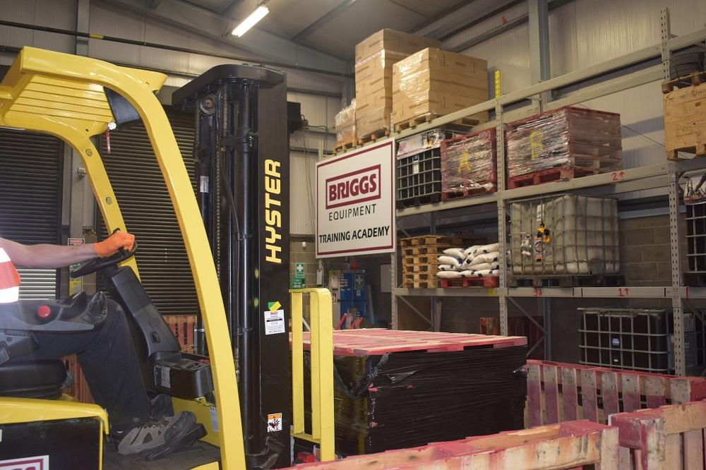 Counter Balance Forklift B1 Refresher